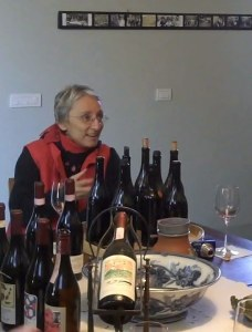 Maria Teresa in Mascarello Tasting Room