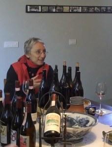 Maria Teresa in Mascarello Tasting Room